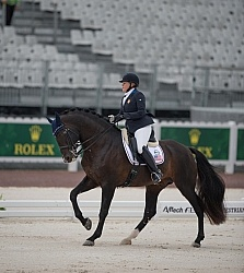 Susan Treabess and Kamiakin Para Dressage Grade IV WEG 2014 Norm