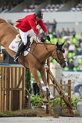 Yann Candele and Showgirl WEG 2014 Normandy,France